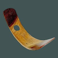 Vintage Wine Holder Aboriginal Design Wood