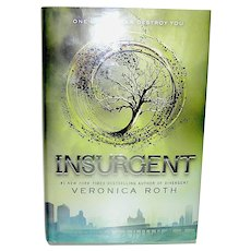 """Vintage Book First Edition """"Insurgent"""" Hardcopy Roth"""