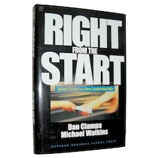 Vintage Book, Right From The Start, Ciampa Watkins, 1999