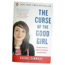 Vintage Book, The Curse Of The Good Girl, Simmons, Penquin