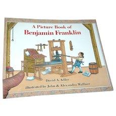 Book Childrens', Picture Book Of Benjamin Franklin