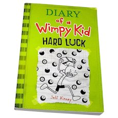 Book, The Diary of a Wimpy Kid, Hard Luck , Kinny, 2013