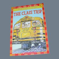 Vintage Book, The Class Trip, Scholastic, Maccarone