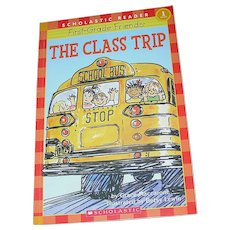 Vintage Book, The Class Trip, Scholastic, Maccarone