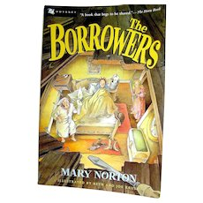 Vintage Childrens book, The Borrowers, Norton