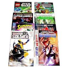 Assorted Modern Comics Comic Books Eight in All