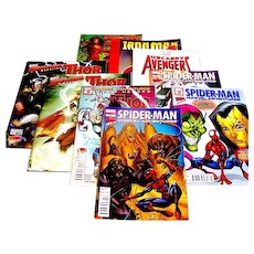 Collection of Modern Era Comics Comic Books Magazines