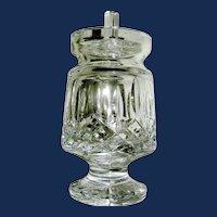 Cut Glass Waterford Jam Jelly Jar