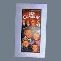 Set 50's Comedy, Burns and Allen, Jack Bennie, Ozzie and Harriet, etc.