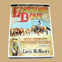 DVD SET Lonesome Dove Seasons one and two Ten disks