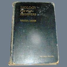 Vintage Book, Biology For Beginners, Holt, 1921 revised 1929