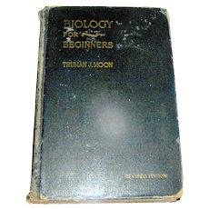 Vintage Book, Biology For Beginners, Holt, 1921 revised 1929