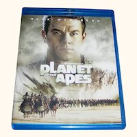Vintage DVD Planet Of The Apes, Mark Wahlberg, 2001