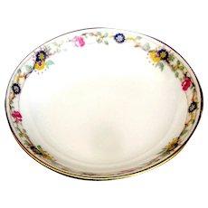 Vintage Lomoges small porceain dish signed