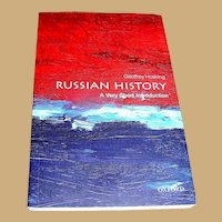 Book, Russian History A Very Short Introduction, Hosking
