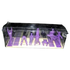Yoga Joes Series Purple Nine Figures