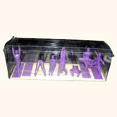 Yoga Joes Series Purple Nine Figures