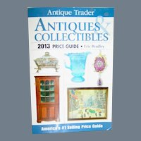 Vintage Book, Antique Trader Antiques & Collectibles, Price Guide, 2013