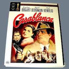 DVD Casablanca with Bogart and Bergman