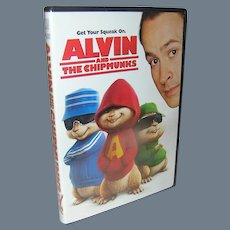 Children's DVD, Alvin And The Chipmunks