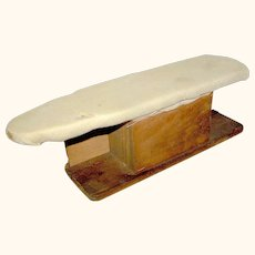 Antique Ironing board for ironing shirt sleeves