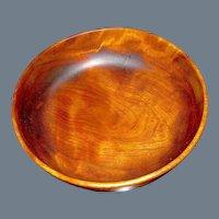 Vintage Large Treen Cherry Bowl