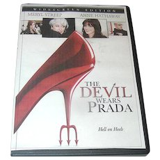 DVD, Widescreen, The Devil Wears Prada