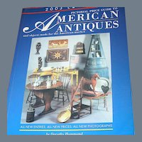 Book:Price Guide To American Antiques 2003