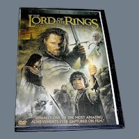 DVD, Lord Of The Rings, Two Towers