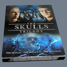 DVD, The Skulls Trilogy 1, 2, and 3