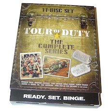 DVD: Tour of Duty The complete set 11 Discs
