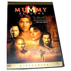 DVD, The Mummy Returns, Collectors Edition