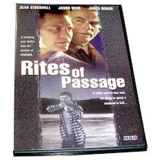 DVD, RItes of Passage, Exc.