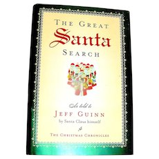 Book, The Great Santa Search, Guinn, Penguin
