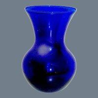 Vintage Cobalt Vase middle 20th c