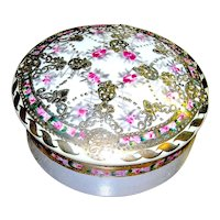 Vintage Covered Nippon Dish Floral
