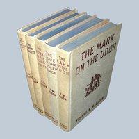 Vintage Clutch of Books, Hardy Boys Mysteries