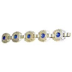 Vintage Bracelet marked Silver Mexico