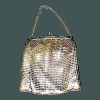 Antique Whiting and Davis Mesh Purse Handbag