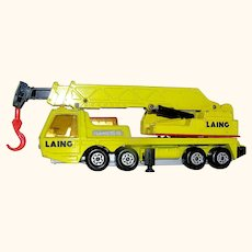 Matchbox toy vehicle Hercules Mobile Crane