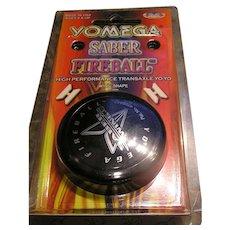 Vintage Toy YoYo Yomega Sabre Fireball 1977