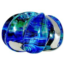 Glass Paperweight by Thames Studio