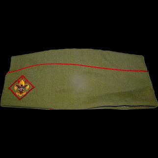Vintage Boy Scout Garrison Hat