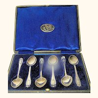 Antique Sterlng Cocktail Spoons Hallmarked