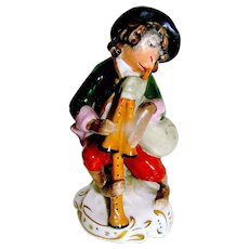 Antique Porcelain Sitzendorf figurine Monkey