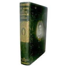 Antique book, Life Work of Louis Klopsch 1910, The Christian Herald