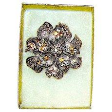 Vintage Liz Clayborn Brooch Pin