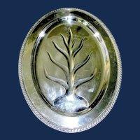 Silver Plate Meat Platter