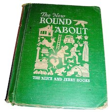 Vintage Book, The New Round About Alice and Jerry