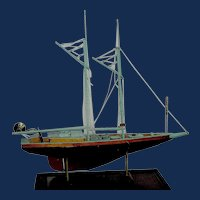 Vintage Handmade Sailboat Local Pickup Only